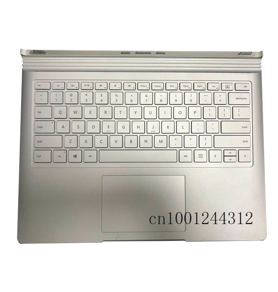 95 NEW Keyboard Base For Microsoft Surface Book 1 Keyboard Replacement 1704 Integrated 1705 Independent Silver