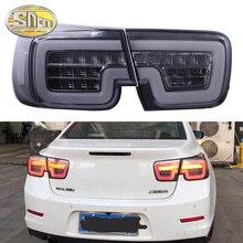 Rear Driving Lamp + Brake + Reverse Lamp + Dynamic Turn Signal Car LED Tail Light Taillight For Chevrolet Malibu 2012   2015