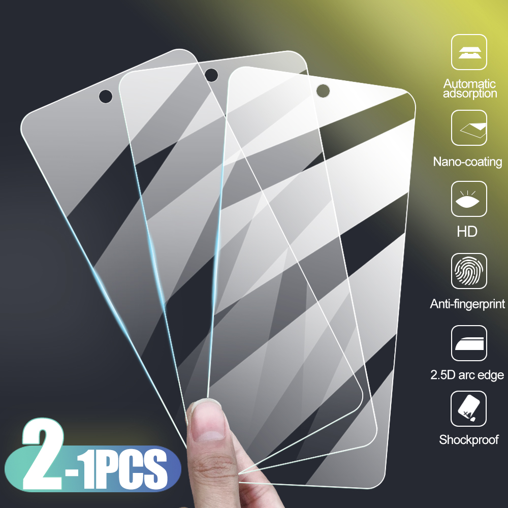 1-2pcs Tempered Glass For Oppo F11 F11pro Screen Protector Safety Protective Glass For Oppo F7 F5 Youth F9 F1 F1s F 5 7 1 Film