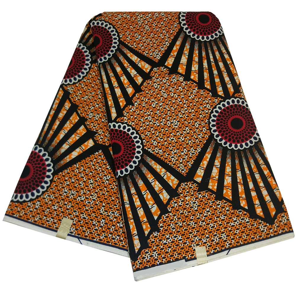 2019 Newest African Ankara Nigeria Pagne High Quality Tissus Guaranteed Wax Fabric African Top DIY Fabric