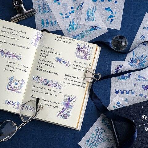 diario planejador decorativo movel adesivos scrapbooking artesanato papelaria adesivos