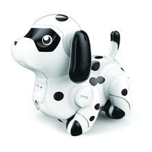 Милый подарок в помещении роботизированная собака Забавная детская игрушка Следуйте любой нарисованной линии умный Индуктивный щенок-модель с ручкой меняющие цвета