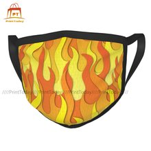 Firefighter Mouth Face Mask Cloth Funny Dustproof Fast Shipping Unisex Facial Mask