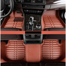lsrtw2017 for bmw x4 F26 leather car floor mat rug carpet 2014 2015 2016 2017 2018 2019 f26 interior decoration accessories