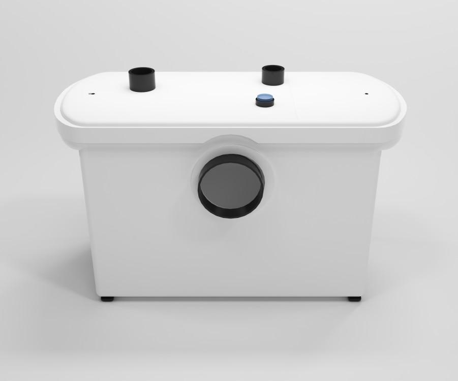 600W Smart Grinder Macerator Pump Use Behind Of The Toilet
