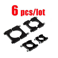 6pcs/lot Tube Clamp Clips Carbon fiber Pipe clamps spare parts for QAV RC Drone Kvadrokopter 12mm 16mm 20mm 25mm 30mm