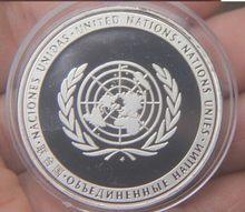 Pièce commémorative plaquée argent de 40mm, Souvenir, défi, pièces de Collection, artisanat d'art