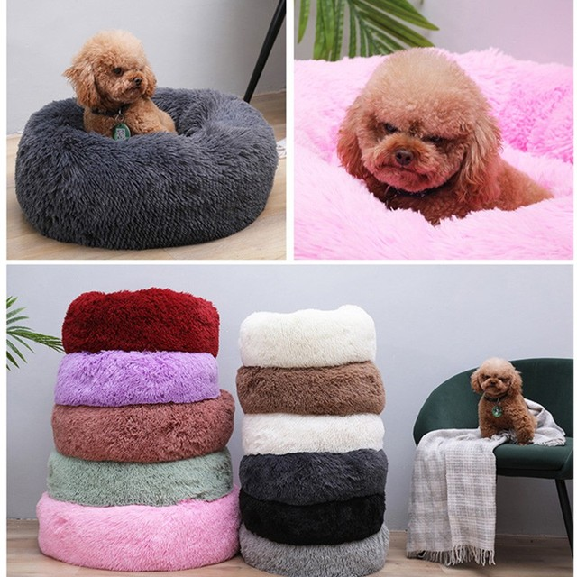 Luxury Plush Dog Bed  5