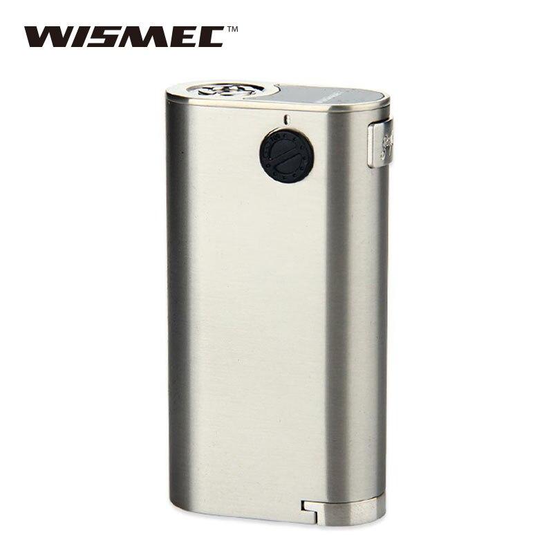 WISMEC bruyant Cricket II 25 boîte MOD Vape RDA bruyant Cricket 2 Mod Cigarette électronique non 18650 boîte de batterie Mod Vape Mod vs glisser