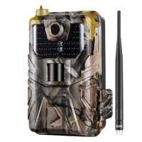 20Mp 1080P камера для съемок дикой природы камера для фото ловушек ночного видения 2G Sms Mms Smtp электронная почта сотовая охотничья камера s Hc900M наб...