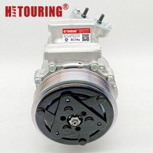 Image 3 - For Sanden SD6V12 6V12 A/C Compressor For Peugeot 206 307 1998 2010 96390781 9639078180 96462733 9646273380 96462738 9646273880