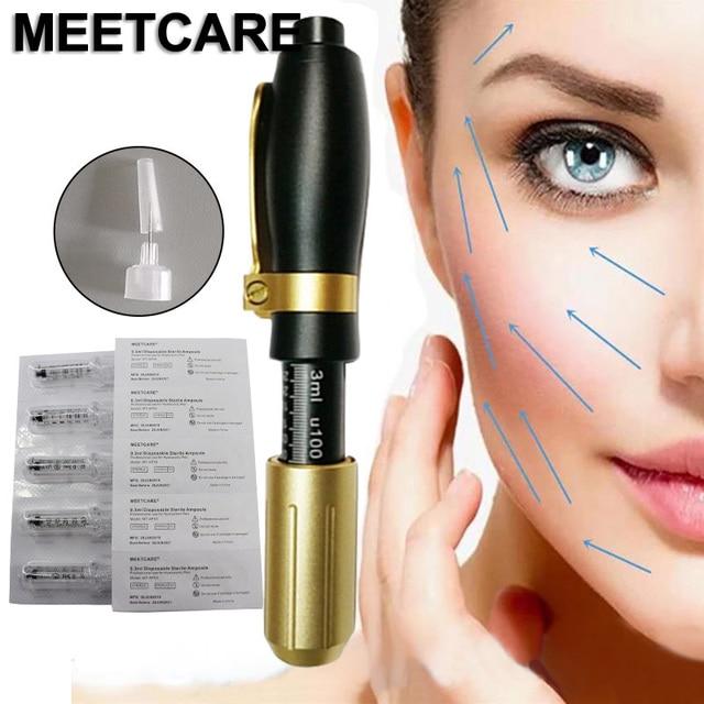 Nicht nadel Zerstäuber Hyaluronsäure Stift mit Hochdruck Hyaluron Stift Pistole für Anti Falten Lip Heben Schönheit Hautpflege Werkzeug neue