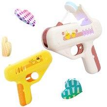 Doces Pirulito Açúcar Arma Arma Brinquedos para Namoradas Brinquedo Luz pirulito Doce de armazenamento Brinquedo para Crianças Adulto EU Te Amo