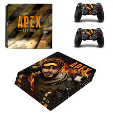 APEX Legends Style Skin Sticker for PS4 Pro Console And Controllers Decal Vinyl Skins Cover YSP4P-3286