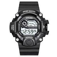 Reloj despertador para hombre, cronómetro con recordatorio por hora, indicador de fecha luminoso, 12/24 horas, de negocios, n. ° p4