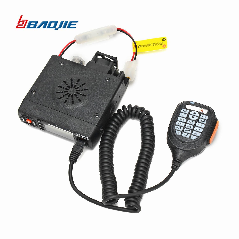 Baojie BJ 218 Long Range Mini Car Mobile Radio Transceiver 25W Dual Band VHF/UHF BJ218 Car radio CB Radio For Truck-in Walkie Talkie from Cellphones & Telecommunications    1