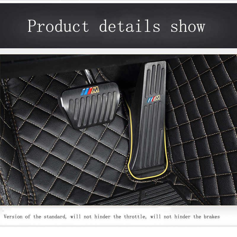 HLFNTF niestandardowe dywaniki samochodowe dla Ssangyong wszystkie modele actyon kyron rexton w przewodniczący korando mata do wyłożenia podłogi bagażnika akcesoria samochodowe mata samochodowa