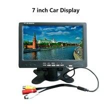 Display Car-Tv Portable 7inch PAL NTSC Video-Input 800x480 AV