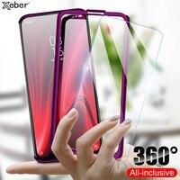 360 custodia protettiva per telefono completa per Xiaomi Redmi Note 4 4X 3 2 6 Pro 4A 3S S2 Go K20 K30 Mi Play 9T A2 Lite Cover antiurto