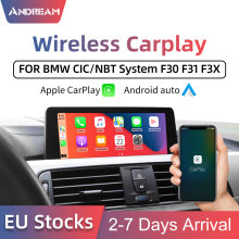 Draadloze Apple Carplay Android Auto Interface Adapter Box Voor Bmw Serie 1 2 3 4 5 7 Mini X1 X3 x4 X5 X6 X7 Cic/Nbt Systeem(China)