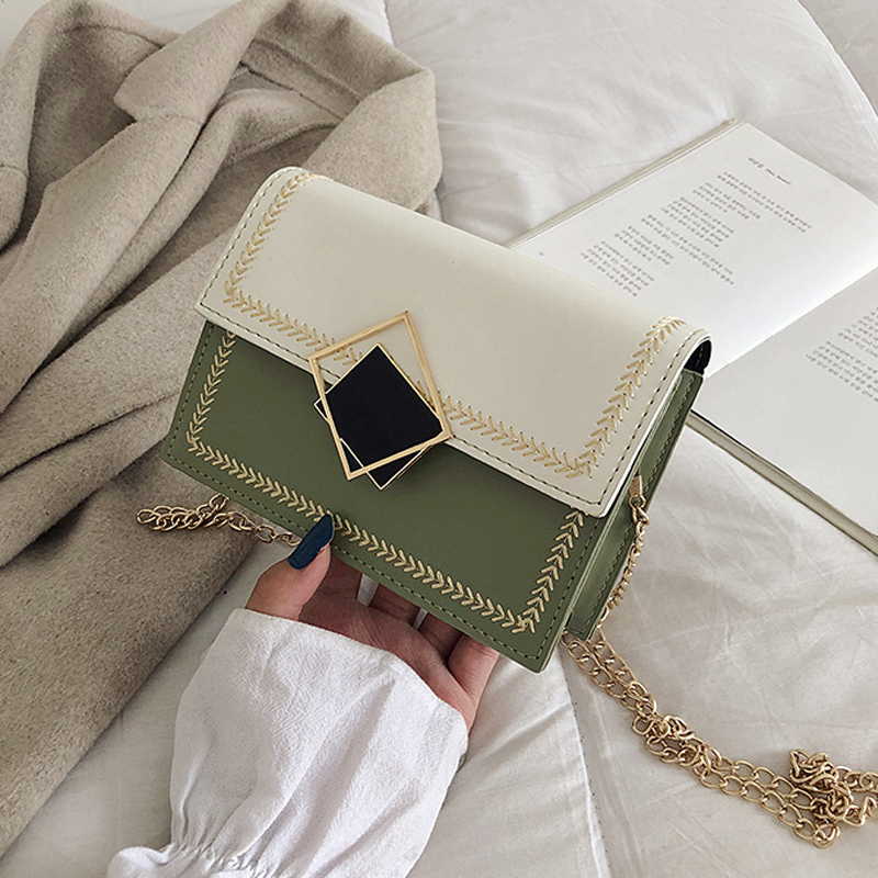 New Small Flap Crossbody Bags For Women 2019 Fashion Shoulder Messenger Bag Special Lock Design Female Travel Handbags