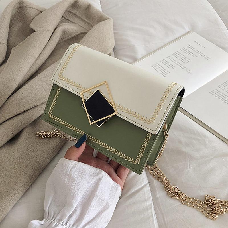 New Small Flap Crossbody Bags For Women 2019 Fashion Shoulder Messenger Bag Special Lock Design Female Travel Handbags