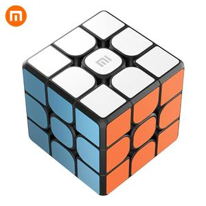 Image 1 - Xiaomi Mijia Smart Bluetooth Magic Cube Gateway Linkage 3x3x3 Mi Square Magnetic Cube Puzzle Science Teaching Education Toy Gift