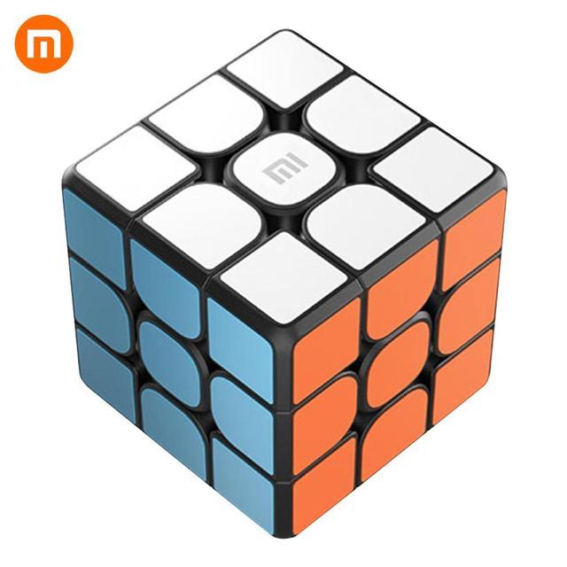 샤오미 mi jia 스마트 블루투스 매직 큐브 게이트웨이 링키지 3x3x3 mi 스퀘어 마그네틱 큐브 퍼즐 과학 교육 교육 장난감 선물
