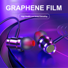 Metal Deep Bass Stereo In-Ear Earphones 3.5mm Jack Wired Headphones Headset Earbuds With MIC For Iphone Samsung Xiaomi oppo PC original cyshdai in ear earphones unique engine shape supper bass auriculares headset with mic for iphone ipad samsung mp3 mp4
