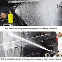 Car Bucket Snow Foam Lance Car Wash For Karcher K(K2-K7) Car Adjustable Pressure Car Snow Foamer Washer Lance Quick Connector 2