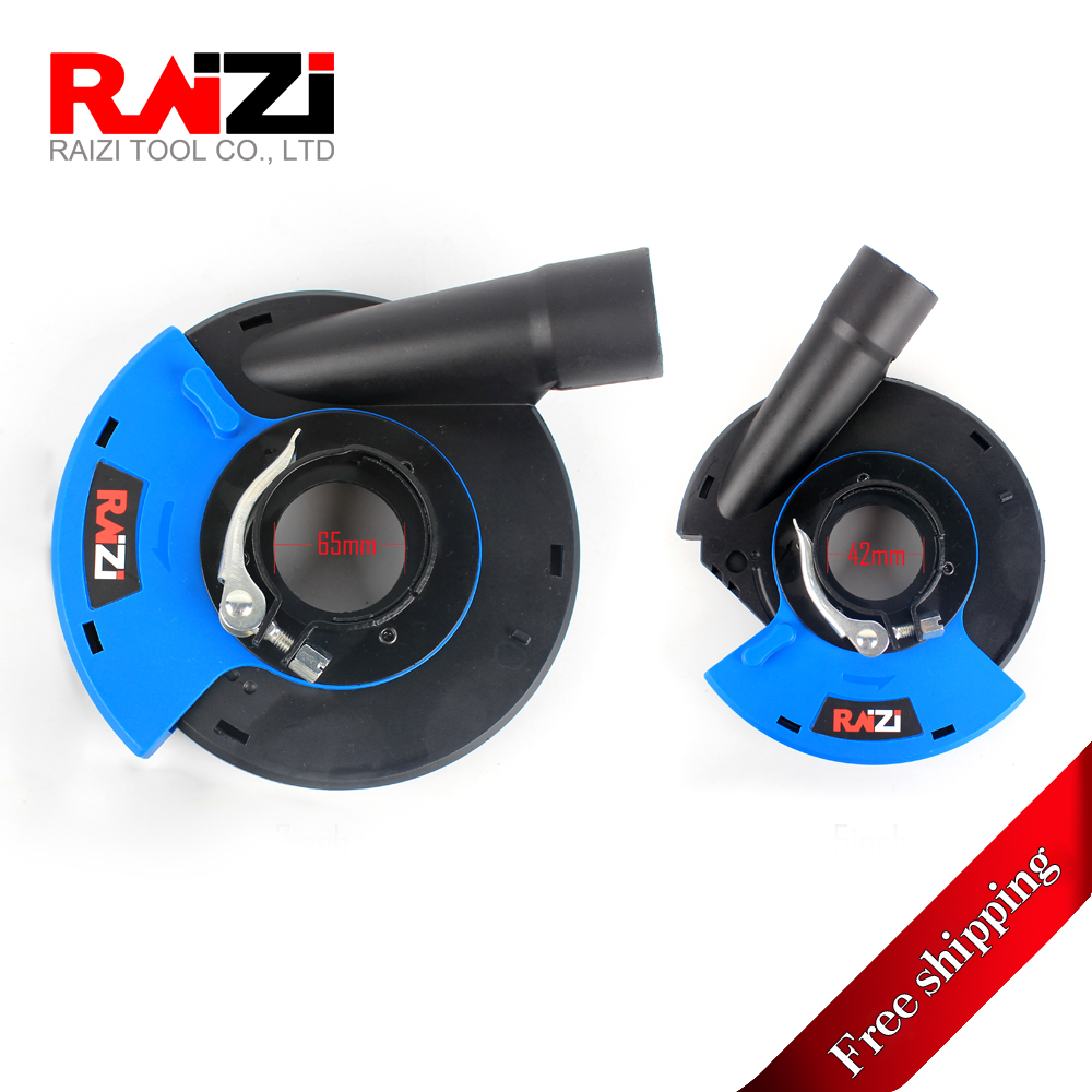 Raizi 5,7 Inch Universal Dust Shroud For Angle Grinder, Dust Collection Plastic Grinder Dust Shroud For Concrete Stone Grinding