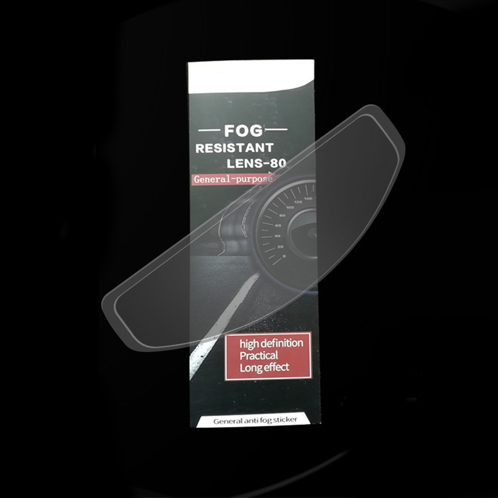 Motorcycle Helmet Film Anti Fog+Rainproof Patch Film Moto Racing Visor Shield Fog Resistant for K3 K4 AX8 HJC HD MT LS2 Helmets
