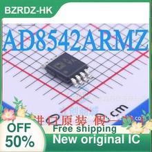 2 10 قطعة/الوحدة AD8542ARMZ افا MSOP 8 جديد الأصلي IC