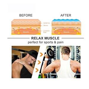 Image 5 - Кинезиологическая лента для спорта, кинезиотейп, Стикеры для мышц, рулон хлопка, эластичный клей, поддержка травм от растяжения, 6 шт.