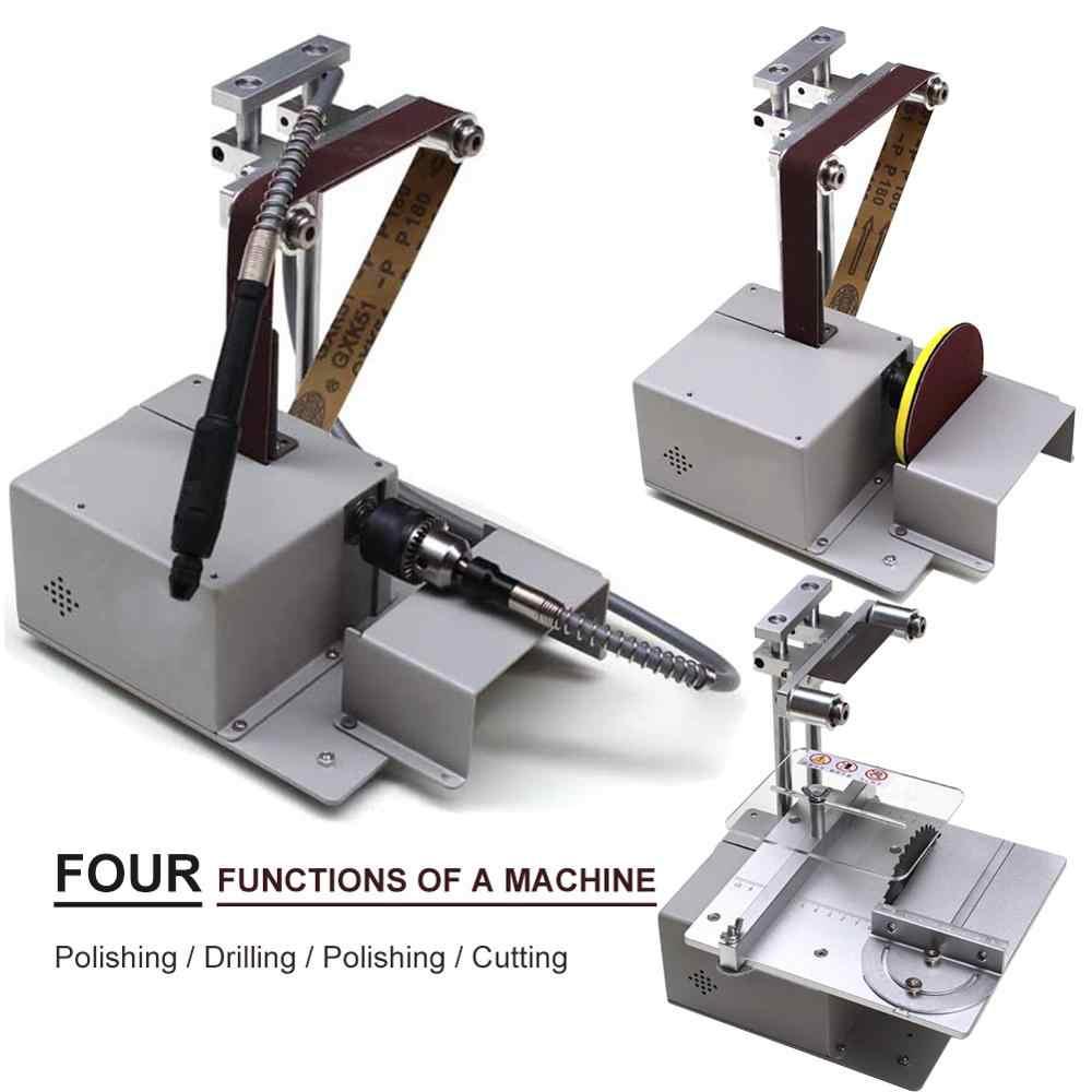 4 En 1 Mini Scie A Table Machine De Decoupe De Bois Electronique