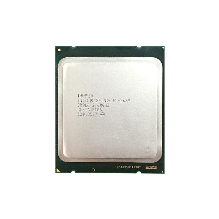 H301b6c3b359c4b068032d873b36fe7c1y Intel Xeon E5 2689 LGA 2011 2.6GHz 8 Core 16 Threads CPU Processor E5-2689