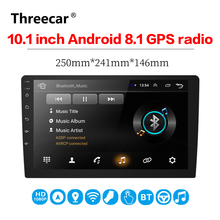 10.1 inch Android 8.1 universal Car Radio 2 din android car radio DVD Player GPS NAVIGATION WIFI Bluetooth MP5 Player
