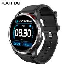 Kaihai ecg + hrv spo2 respirar relógio inteligente de oxigênio no sangue saúde freqüência cardíaca rastreador cronômetro despertador contagem regressiva