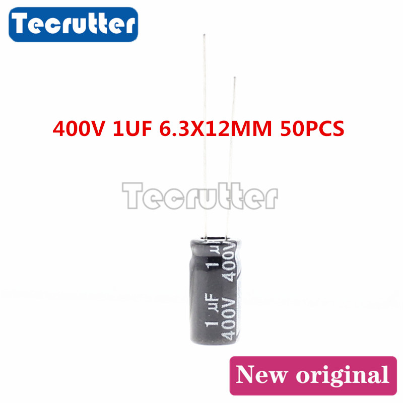 10pc MKP 400V 4.7uf Red long copper leads Axial Electrolytic Capacitor audio amp