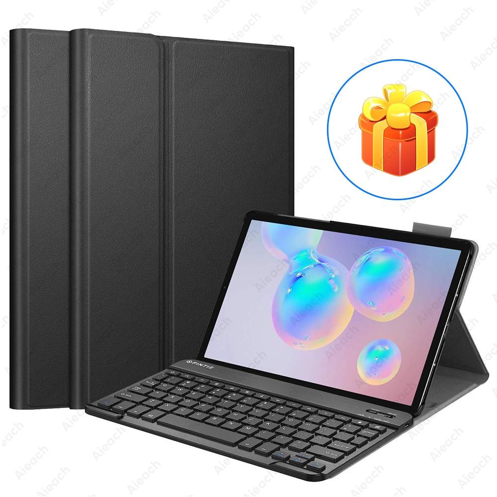 Keyboard Case For Samsung Galaxy Tab A 10.1 10.5 8.0 A6 2019 2018 2016 Case Bluetooth Keyboard Cases For Samsung Tab S5e S6 S4