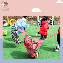 Happymaty Children Sensitive training Sport Resistance Exercise Umbrella Toy Kids Speed Training Parachute Chute Sports