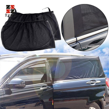 ZXMT 2Pcs Car Window Cover Sunshade Curtain UV Protection Shield Protector Accessories