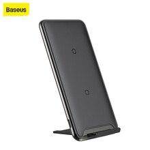 Chargeur sans fil Baseus Qi 10W 3 bobines chargeur de charge rapide pour iPhone X Samsung Galaxy S9 support de chargeur de téléphone portable pour téléphone