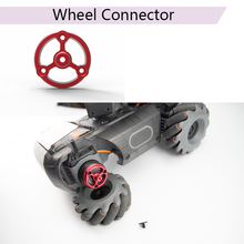 Get more info on the Stable CNC Aluminum Alloy S1 Wheel Connector for DJI Robomaster S1 Red Lightweight Adapter Wheel Accessories