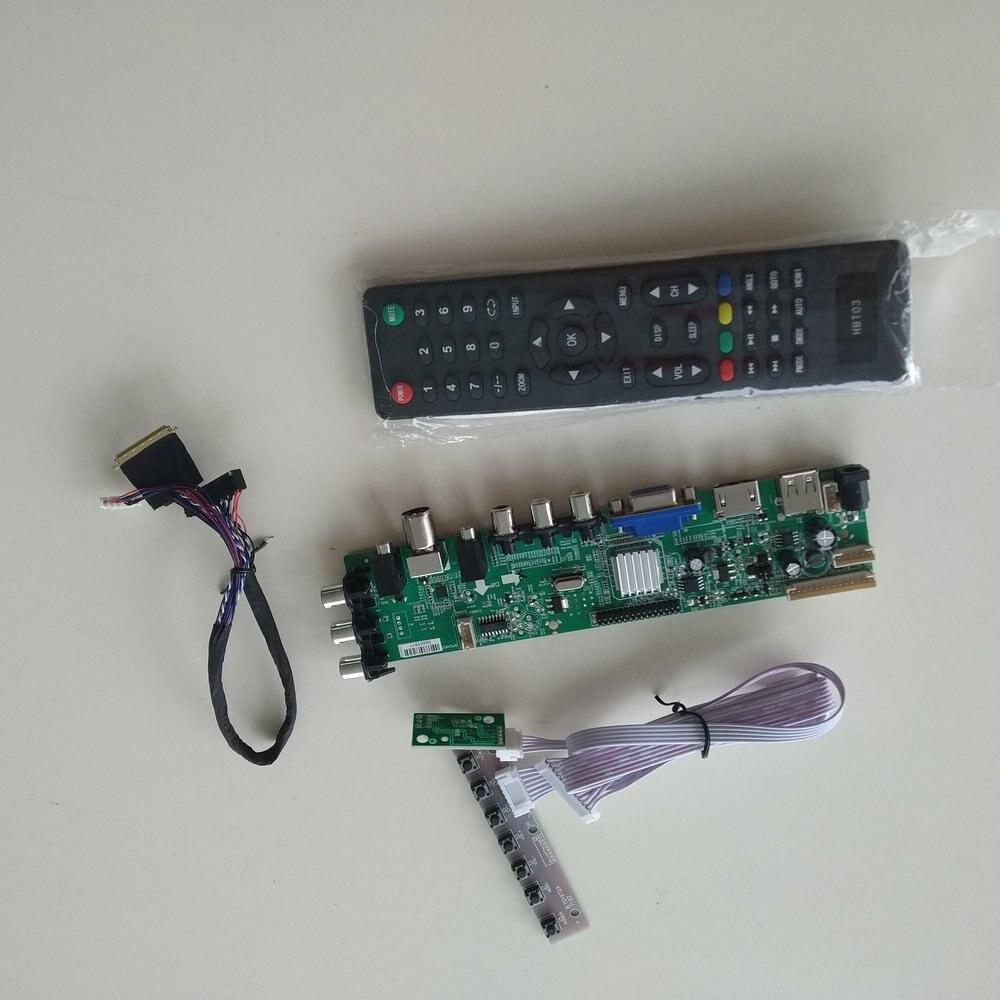 LCD LED Controller Driver Board Kit for LP156WH4-TLC1 HDMI+DVI+VGA housing
