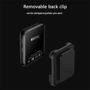 Image 2 - Mini klip Bluetooth4.2 MP4 oyuncu Metal dokunmatik ekran HIFI kayıpsız ses müzik Video oynatıcı desteği FM, kaydedici, a B tekrar