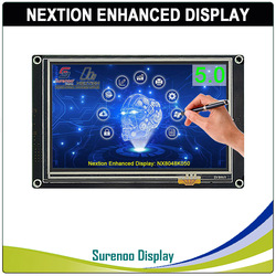 5.0 NX8048K050 Nextion تعزيز HMI USART UART المسلسل مقاوم اللمس TFT وحدة عرض LCD لوحة لاردوينو التوت بي