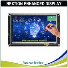 "5.0 ""NX8048K050 Nextion تعزيز HMI USART UART المسلسل مقاوم اللمس TFT وحدة عرض LCD لوحة لاردوينو التوت بي"