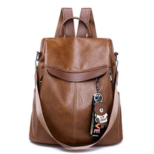 Women Backpacks High Quality Female Vintage Backpack Soft  Leather Travel Shoulder Bag Mochilas  Feminina School Bags For Girls
