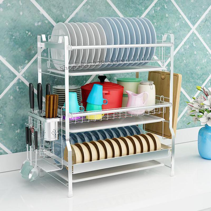 304 Нержавеющаясталь Кухня вешалка для шкафа дренажная Стойка вешалка для шкафа и разрядное устройство для хранения коробка стеллаж для вы...
